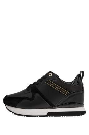 Кроссовки женские Tommy Hilfiger FW0FW04130 черные 40 RU