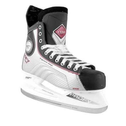 Коньки хоккейные Спортивная Коллекция Profy Lux 3000 красные, 46