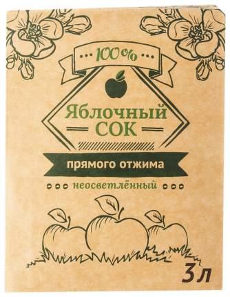 Сок яблочный 3 л
