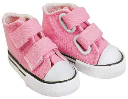 Кеды для кукол на липучках, длина подошвы 7 см, цвет розовый Sima-Land