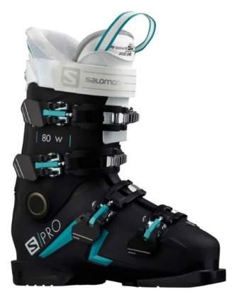 Горнолыжные ботинки Salomon S/Pro 80 W 2020, черные, 22.5