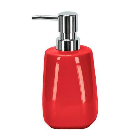 Дозатор для жидкого мыла Kleine Wolke Cone, красный