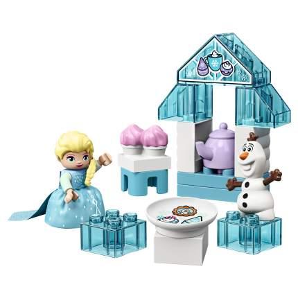 Конструктор LEGO DUPLO Disney Princess 10920 Чаепитие у Эльзы и Олафа