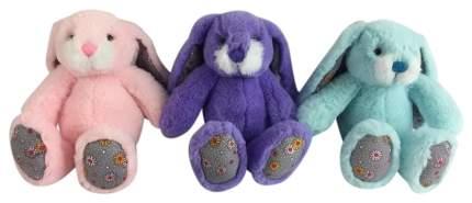 Кролик, 15см, 3 цвета (розовый, фиолетовый, бирюзовый)