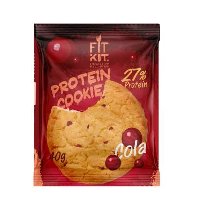 Fit Kit Protein Cookie 40 г Кола