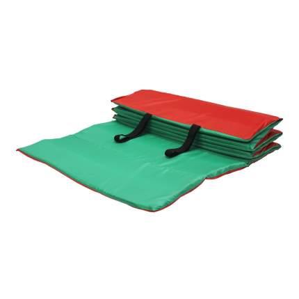 Коврик гимнастический Body Form BF-002 красно-зеленый