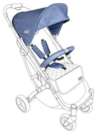Тканевый комплект для коляски Squizz3 Looping, синий, арт. N15A-BL