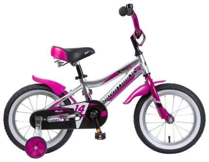 """Велосипед Novatrack """"Novara"""" (цвет: серебристый, 14"""")"""