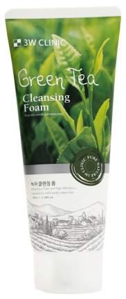 Пенка для умывания 3W Clinic Green Tea Cleansing Foam 100 мл