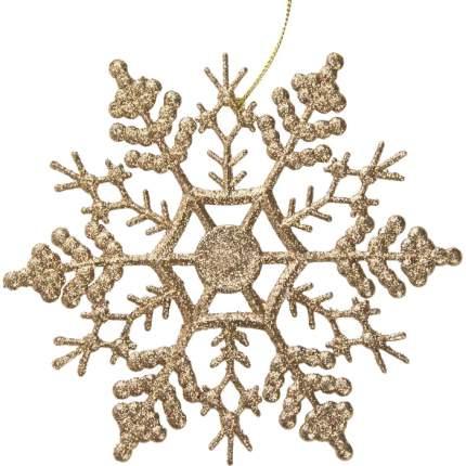 Елочная игрушка Феникс Present Снежинка-паутинка 77912 16,5 см 1 шт.