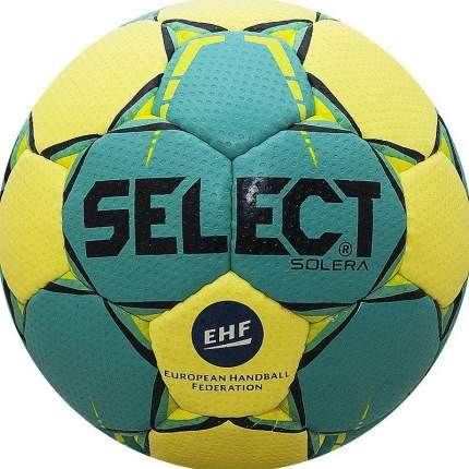 Мяч гандбольный Select Solera 2017, 3, желтый/зеленый