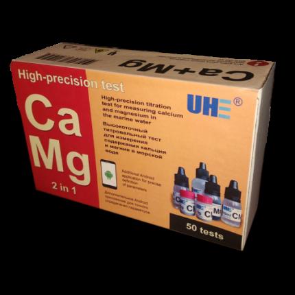 Тест на определение содержания кальция и магния в солкной воде UHE Ca Mg test