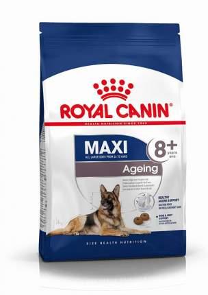 Сухой корм для собак ROYAL CANIN Ageing 8+ Maxi, для пожилых крупных пород, птица, 15кг