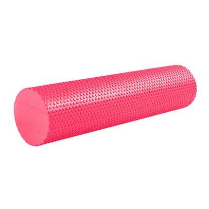 B31602-3 Ролик массажный для йоги красный 60х15см.