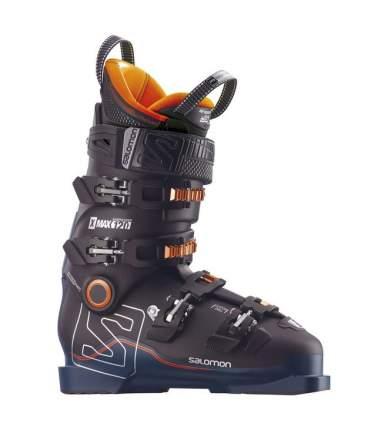 Горнолыжные ботинки Salomon X Max 120 2018, black/petrol black/orange, 26.5