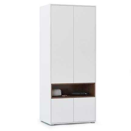 Платяной шкаф Mobi Лайт 10.74 1356042 79х52,4х190, белый премиум