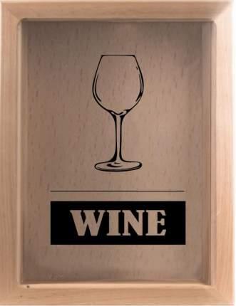 Копилка для винных пробок Wine 22x26 см. Дубравия KD-022-105