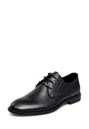 Туфли мужские Alessio Nesca 710018078 черные 43 RU