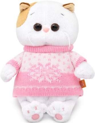 Мягкая игрушка BUDI BASA Кошка Ли-Ли BABY в свитере 20 см