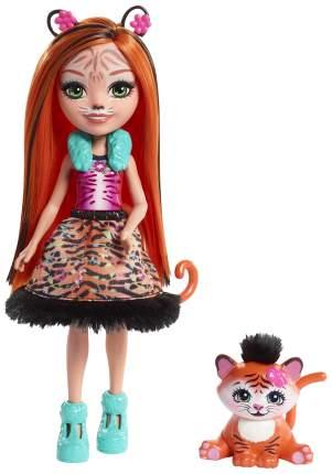 Кукла Enchantimals Тигрица Тэнзи FRH39 15 см