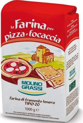 Мука Molino Grassi из мягких сортов пшеницы для пиццы и фокаччи 1 кг