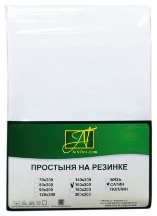 Простыня АльВиТек ПР-СО-Р-160-БЕЛ цвет Белый