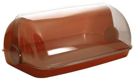 Хлебница Plastic Centre Пышка ПЦ1672 Коричневый, прозрачный