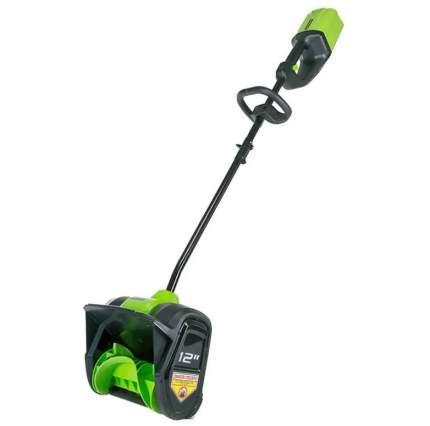 Аккумуляторный снегоуборщик Greenworks G80SS30 АКБ и ЗУ в комплекте