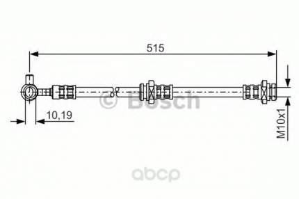Шланг тормозной Bosch 1987476378