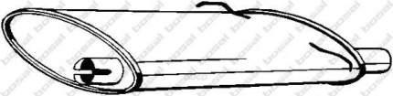 Глушитель выхлопной системы bosal 235021