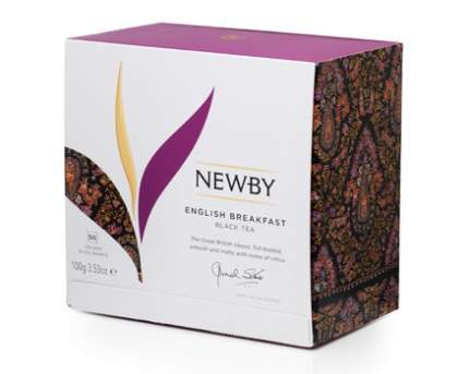 Чай Newby английский завтрак 25 пакетиков