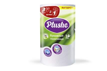Полотенце Plushe big бумажное  2 слоя 1 рулон 33 м