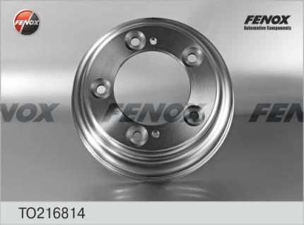 Барабан тормозной FENOX TO216814