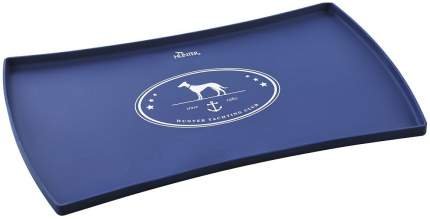Коврик под миску для кошек и собак Hunter Binz, 48*30 см, синий