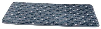 Коврик для кошек и собак TRIXIE Tammy плюш, синий, 70x50 см