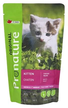 Сухой корм для котят Pronature Original Kitten, курица, 0,34кг