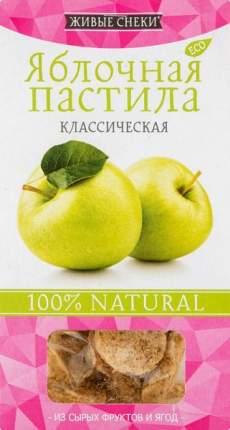 """Яблочная пастила """"Классическая"""", 35г, ЖИВЫЕ СНЕКИ"""