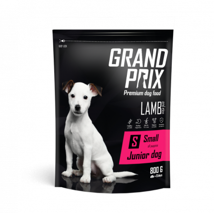 Сухой корм для щенков Grand prix Small Junior LAMB, ягненок, 0.8кг