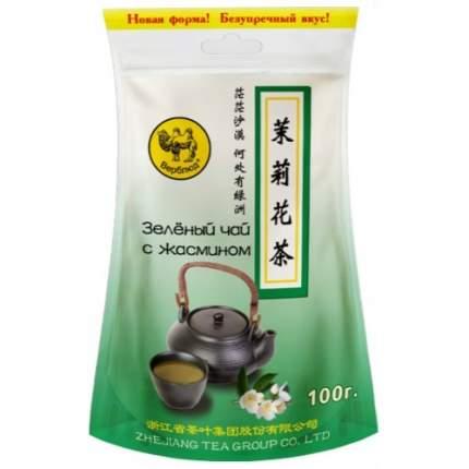 Чай зеленый листовой Верблюд жасмин 100 г