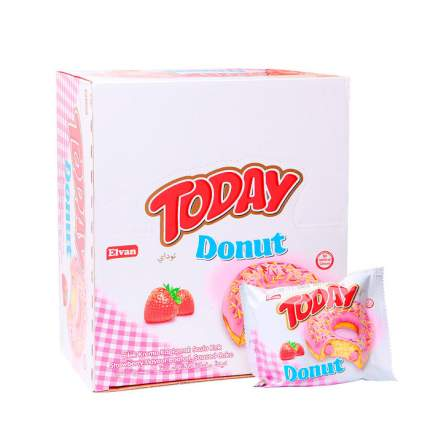Пончики Today donut клубника
