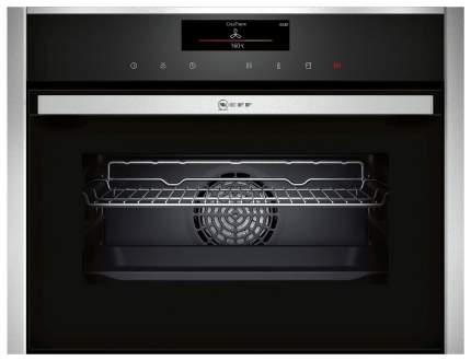 Встраиваемый электрический духовой шкаф Neff C18FT48H0 Silver/Black