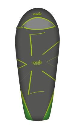Спальный мешок Norfin Nordic 500 NF зеленый, правый