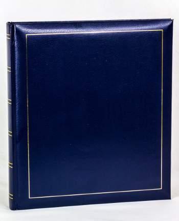 Фотоальбом под уголки на 60 страниц 28х32 см, винил синий