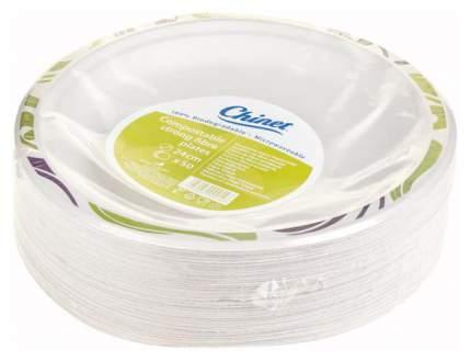 Набор одноразовых тарелок Chinetduet ПОС25659 Разноцветный