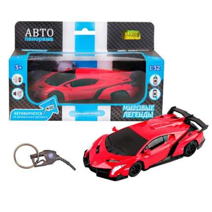Машинка металлическая Автопанорама 1:32 Lamborghini Veneno красный JB1200171