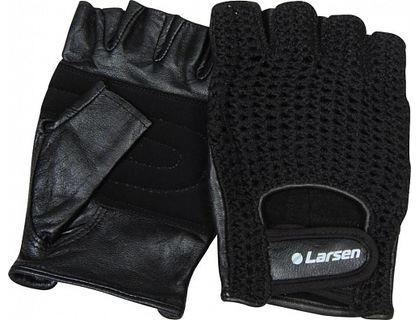 Перчатки для фитнеса Larsen 16-8341, черные, XL