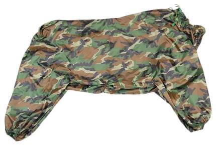 Комбинезон для собак Gamma унисекс, зеленый, длина спины 67 см