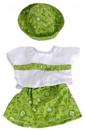 Набор одежды для кукол Miniland Для куклы-девочки 38-40 см (кофточка, юбка, панамка)