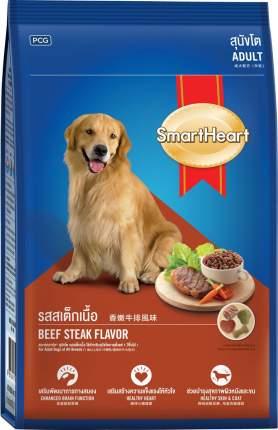 Сухой корм для собак Smart Heart Adult, все породы, Стейк из говядины, 18кг