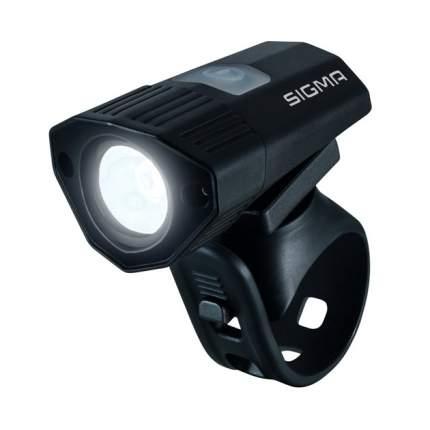 Велосипедный фонарь передний Sigma Buster 100 черный